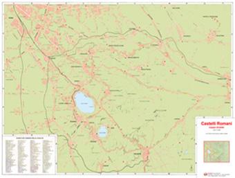 Cartina Roma Ciampino.Mappa Castelli Romani Tutte Le Mappe Stradali Dei Castelli Romani E Dei Suoi Comuni