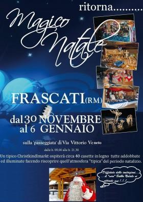Mercatino di Natale a Frascati