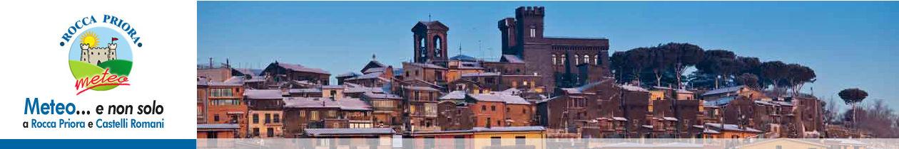 Meteo Rocca Priora previsioni meteo per i Castelli Romani