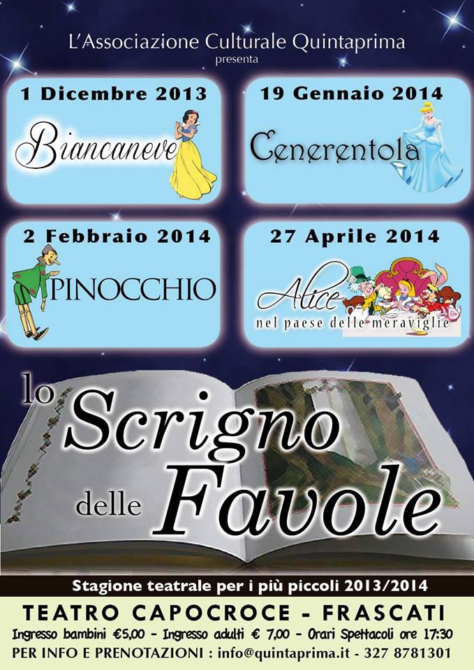 Teatro per Bambini - Lo Scrigno delle Favole a Frascati